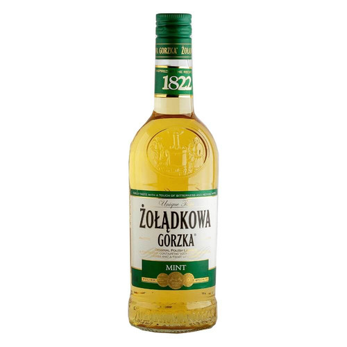 Zoladkowa Gorzka Vodka Mint 36%vol. Polnischer Wodka Minze 500ml