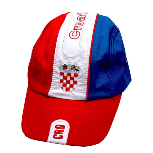 Kroatien Fan Cap Polo Basecap mit Stickerei 02
