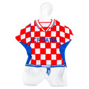 Mini National Trikot mit Saugnapf Team Kroatien Fan