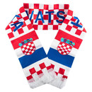 Fan Schal Team Kroatien Motiv 3