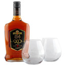 Stock 84 XO Brandy 40%vol. Weinbrand 0,7 L mit 2 Original...