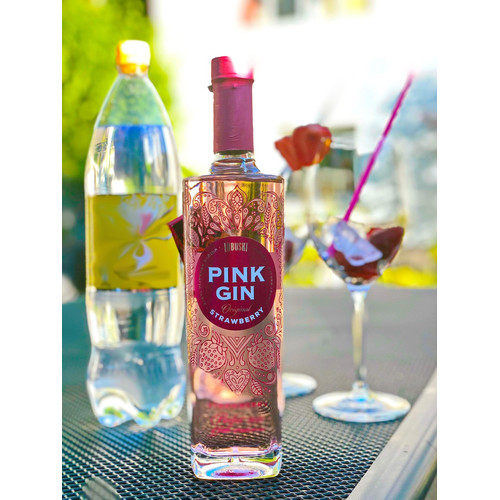 Pink Gin Strawberry Lubuski Erdbeer Gin 37,5% vol. 500ml