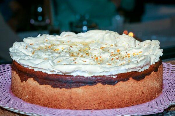 Torta zlatna kapljica