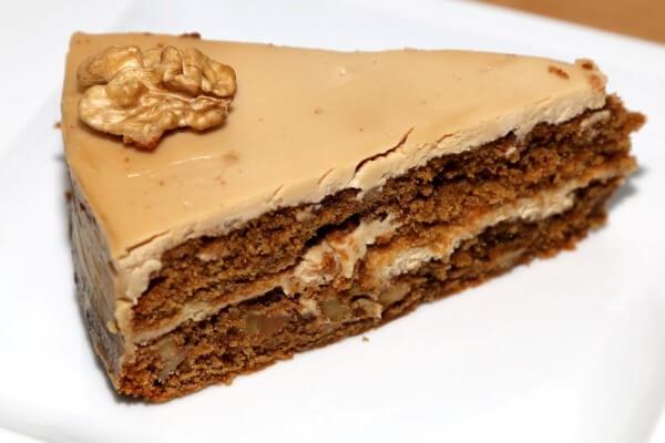 Rezept Kaffee Walnuss Torte