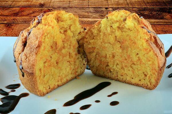 Möhren Muffins - Mufini od Mrkve