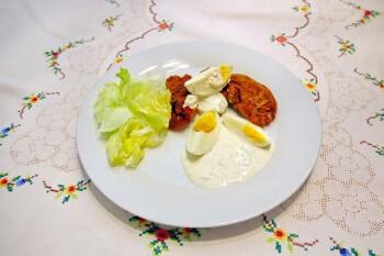Rezept Panierte Hühnerleber mit Tatarensoße