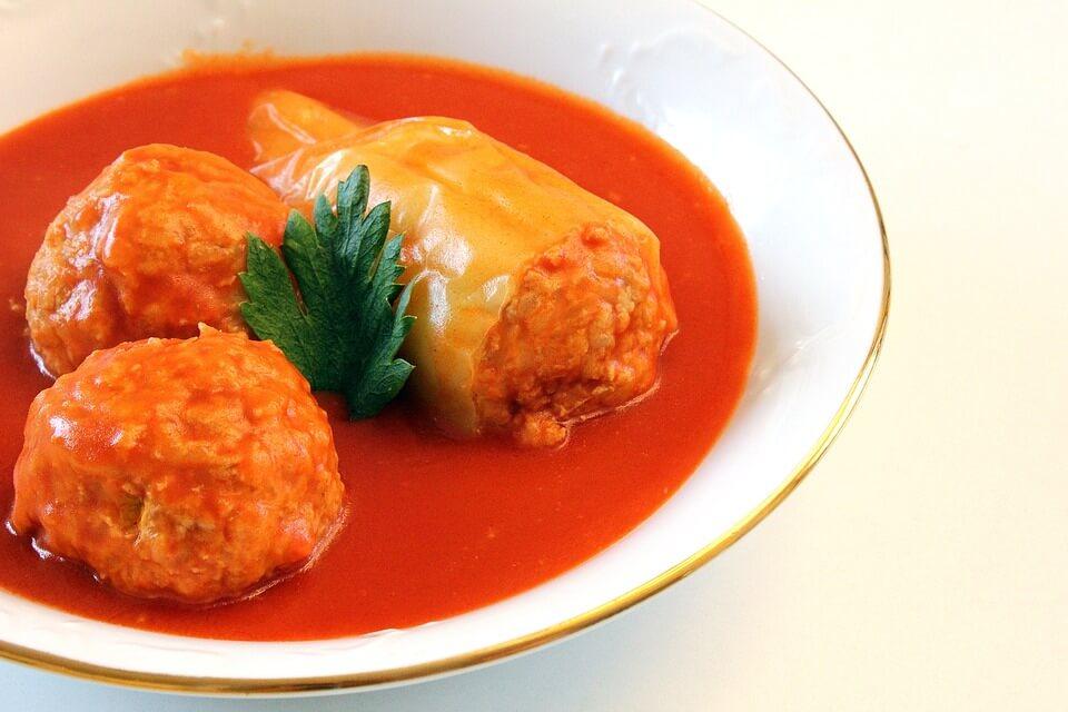 punjena paprika - gefüllte paprika