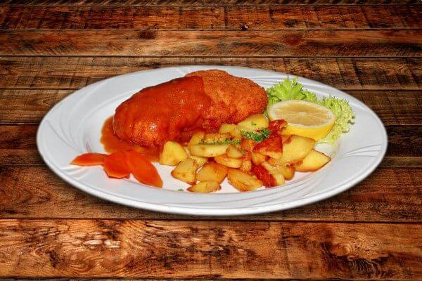 Rezept für Zagrebere Schnitzel